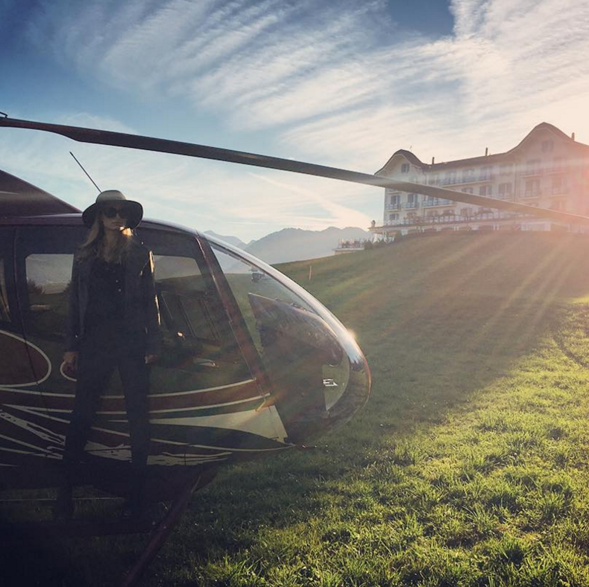 eat a helicopter with Hotel Villa Honegg on Hotel Villa Honegg as well The Best Original Syfy Movies moreover Ultimate Hawaii Travel Guide also School Field Closes Makeover in addition P.