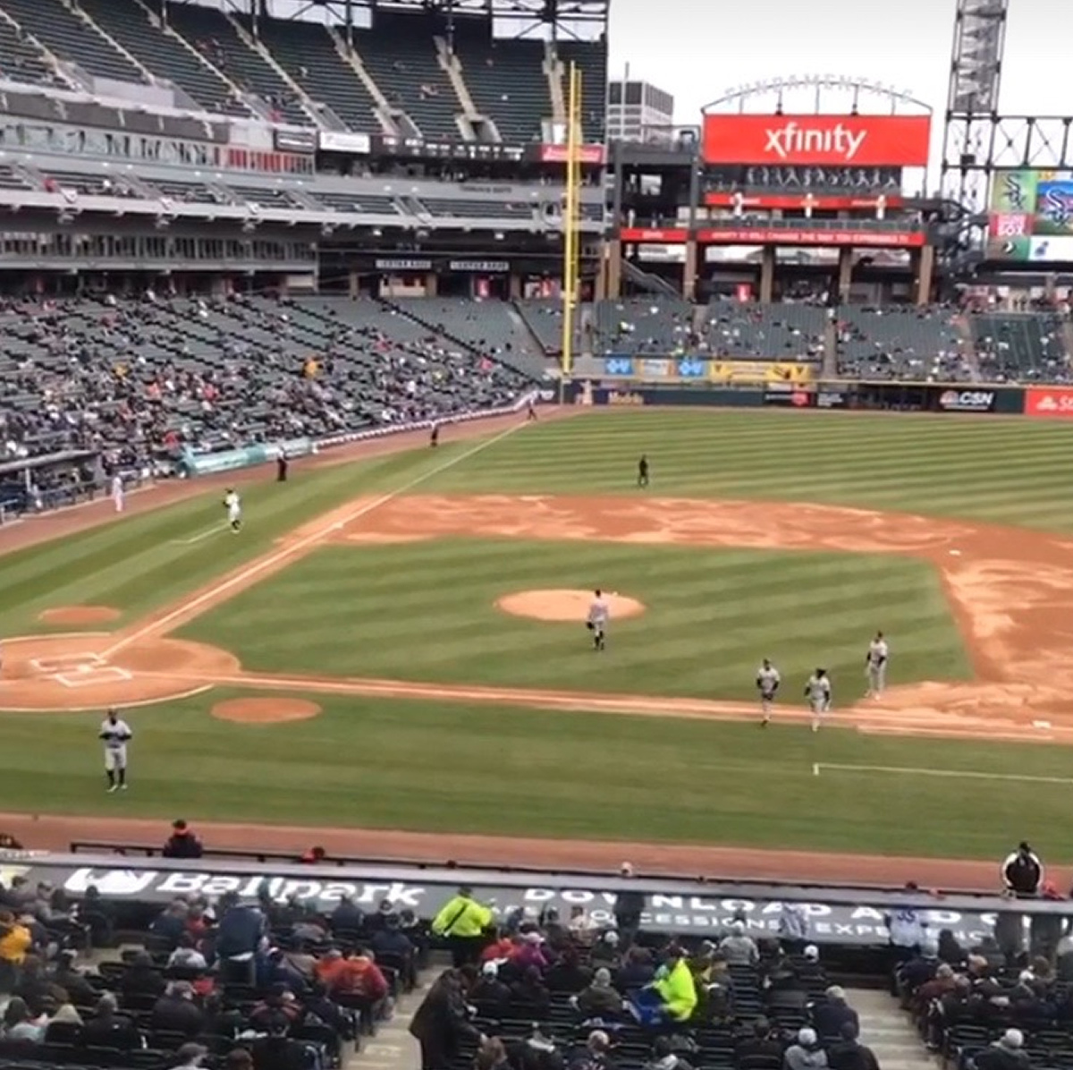 Guaranteed Rate Field GALUXSEE - Us cellular field map