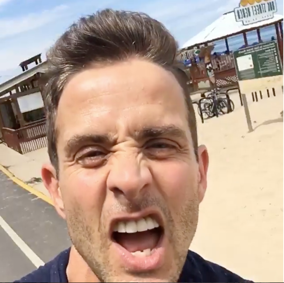 Oak Street Beach 20170616 Joey Mcintyre Instagram Map